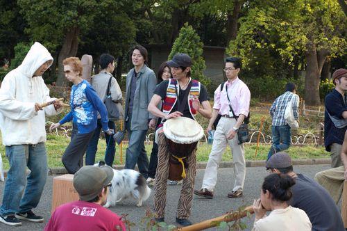 Drummers at Yoyogi