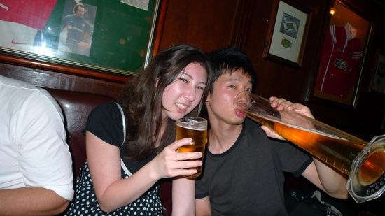 Alia and Yuichi and a Pint and a Liter