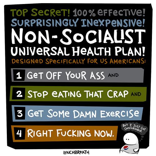Lunchbreath universal health care