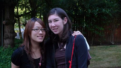 Alia and Sandy