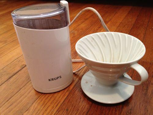 Krups blade grinder ceramic filter holder 007