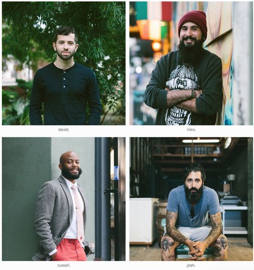 Beards of San Francisco
